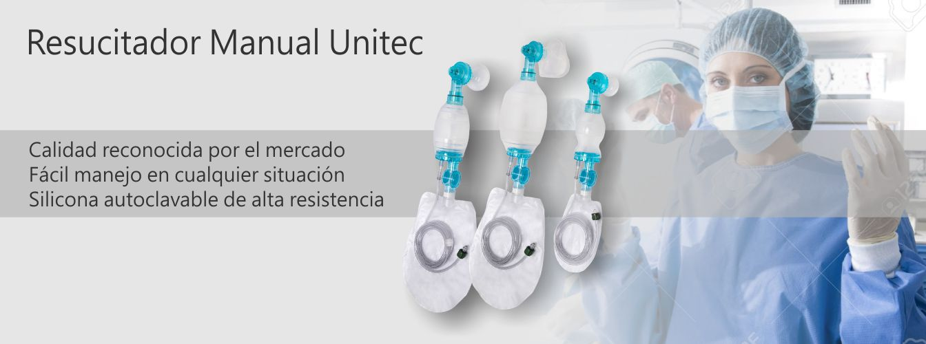 Resucitador Manual Unitec